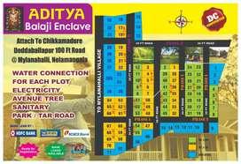 Nelamangala to doddaballapura main road attached property available