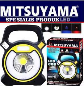 Lampu Emergency Powerbank 2 in 1 Mitsuyama