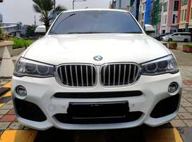 BMW X4 MSPORT 2014 PUTIH PAJAK BARU FULL RECORD BMW TERMURAH