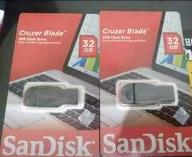 Flashdisk sandisk kapasitas 32Gb Ori