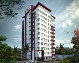 1263 Sft Riverfront Flats in Aluva - Ready to Occupy- No GST -51 Lakhs