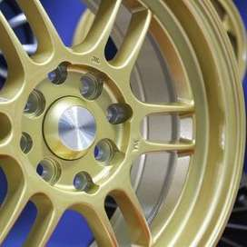 jual velg type hsr wheelKUMAMOTO JD109 HSR Ring.15 Lebar.6,5 PCD.4X100