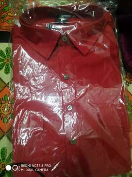 Manyvar kurta red