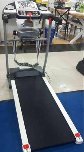 Alat olahraga lari teradmill elektrik 2 fungsi murah COD Majalengka