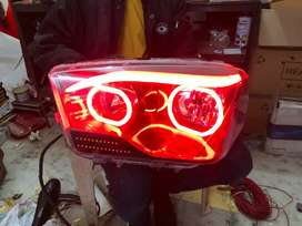 Mahindra Scorpio led headlights with DRL and indicators