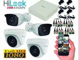 Komplit paket CCTV 2mp 5mp full HD online