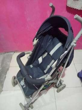 Stroller pliko anak jarang di pakai