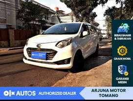 [OLX Autos] Daihatsu Sigra 2016 1.2 X A/T Bensin Putih #Arjuna Tomang
