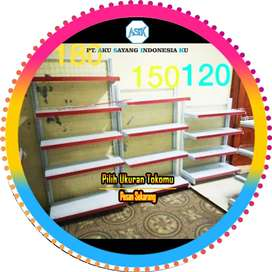 Harga Rak Toko Minimarket display