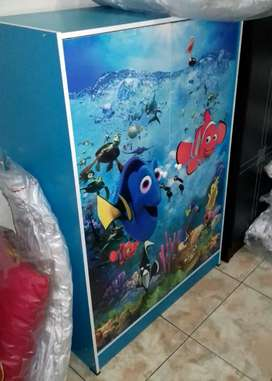 Lemari Pakaian Anak 2 Pintu Nemo