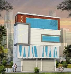 Kakkanad  near infopark 5cent 3500sqt commercial building 1.50cr