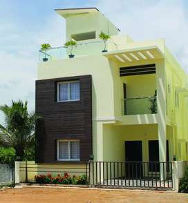 Low cost individual villa with all amenities for sale at Kelambakam