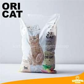 Oricat Ikan 1kg Makanan Kucing Murah