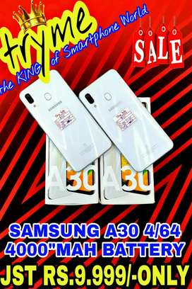 TRYME 4000Mah Battery SAMSUNG A30 fUll Kit Box