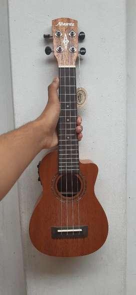 Ukulele guitar , Alvarez brand, concert size,