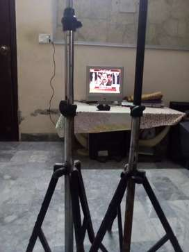 Pair of projector screen stand 5.6 feet hight
