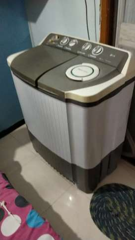LG semiautomatic washing machine - 7 kg capacity