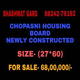 (27*60) Chopasani Housing Board (new construction) house for sale