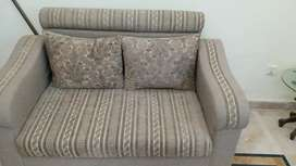 Wooden 7 seater sofas with neat covering