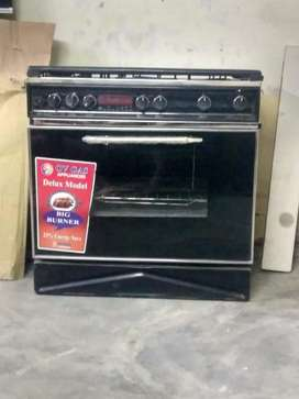 Gas oven 5 burners