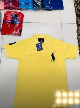 Whole sale Men T shirt Half Sleeves 12 colors Available