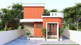 Eco-friendly House for sale at Nadakudurru near Jaganadhapuram