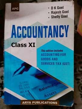 Accoutancy class 11th DK GOEL