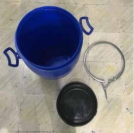 Drum tong Plastik ± 60 liter BAGUS