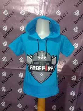 Kaos hoodie anak murah