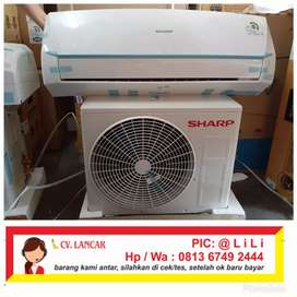 Ac Sharp 1/2 Pk ( 05say ) + pasang + material ( 390 watt )