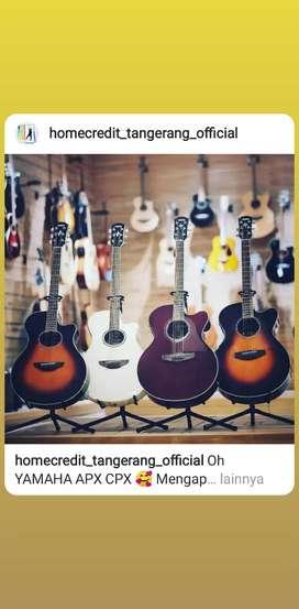 Yamaha Guitar all type terima cicilan tanpa kartu kredit