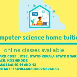 Online classes for computer science subject by experienced teacher