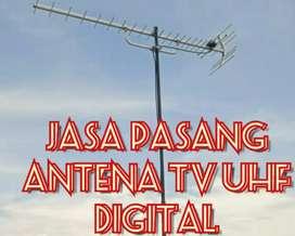 Instalasi Pemasangan Sinyal Antena Tv Analog Digital.