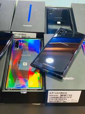 Samsung Galaxy Note 10 Plus Box pack New 1 Year Warrnaty PTA approved