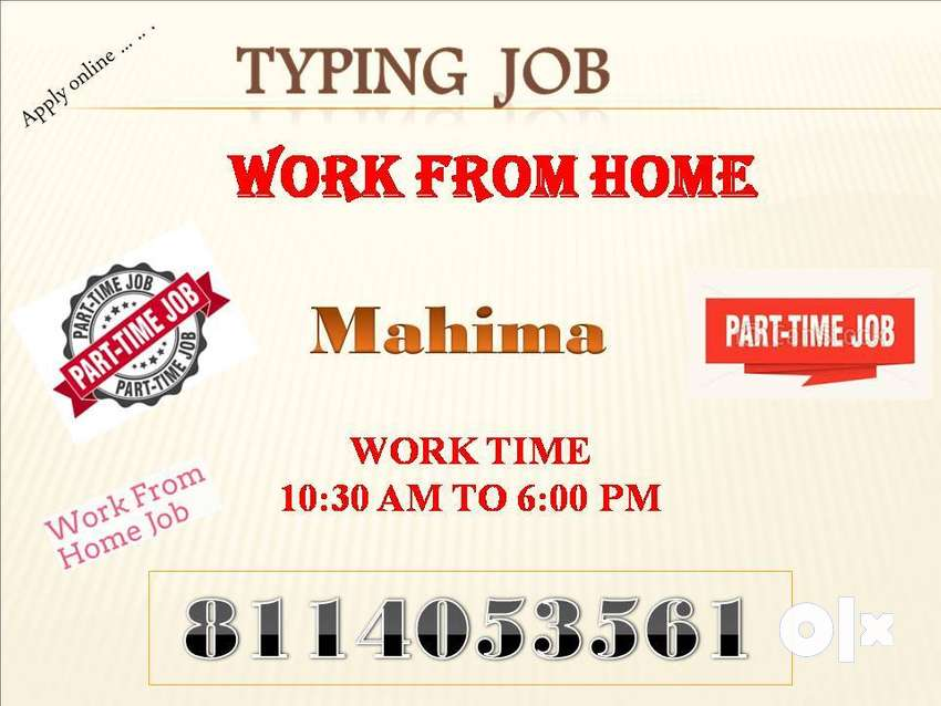Offline Typing and Data Entry Work 0