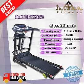 Alat Fitness Treadmill Electric TL 246 Surabaya