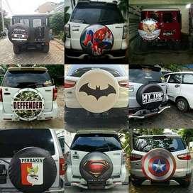 Jual Sarung Ban Serep Mobil Pajero-Ecosport PakaiDesainMu Kece Oke sel