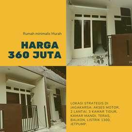 Dijual rumah baru murah di Jagakarsa harga 360 juta akses motor nonkpr