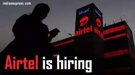 नोकरी चाहिए तो आए हमारे पास Airtel Broadband Looking Freshers 4 Mohali