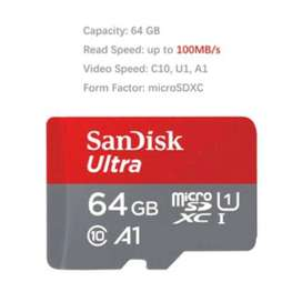MEMORI SANDISK 64GB A1 NON ADAPTER