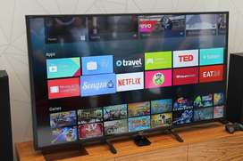 """50"""" FULLY SMART _ANDROID LED TV SONY PANEL 4K ULTRA HD 2 YR WARRANTY !"""
