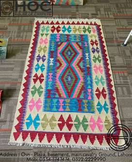 Hand made, export quality kilims, rugs, center pieces