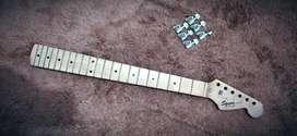 Neck guitar squier by fender california series  hard quarter maple