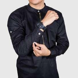 Baju koko zipper gamis pria pakistan ID744