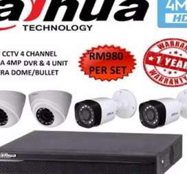 Sedia paket camera complit cctv HD