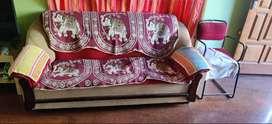 Cushion Sofa for sale 3+1+1