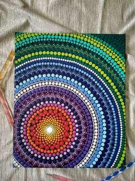 Mandala Art Painting- Wall Frame