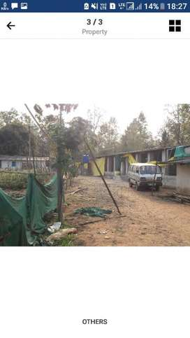 Farmhouse well built with all modern irrigation facilities 18 acres.