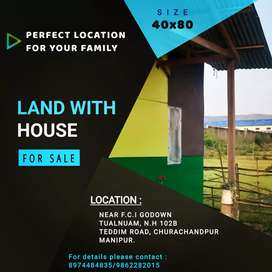 ON SALE : LAND WITH HOUSE