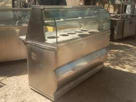 Display Gollgappa Counter 5ft available